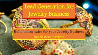 Lead Generation for Jewelry Business@Diamond District Block