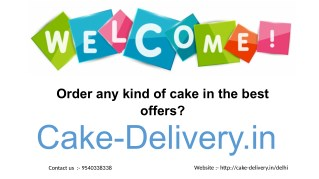 Looking for online websites to order any kind of cake in any of the best offers?