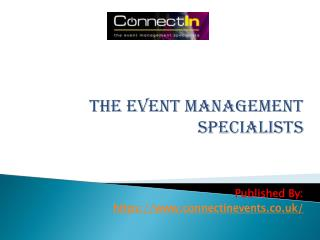 The Event Management Specialists