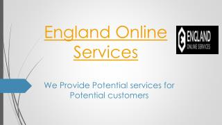 England Online Services