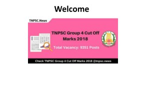 TNPSC Group 4 Cut off Marks 2018 - Check Group IV Exam Score Card