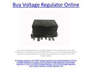 Power Supply Voltage Regulator