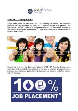 DOT NET Training Kerala