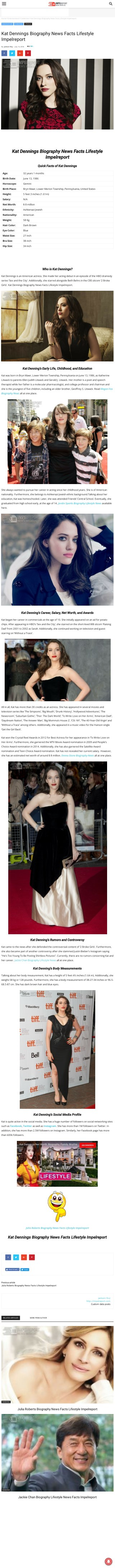Kat Dennings Biography News Facts Lifestyle Impelreport