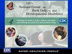 Disability Activities at  CDC