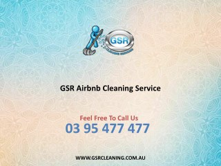 GSR Airbnb Cleaning Service