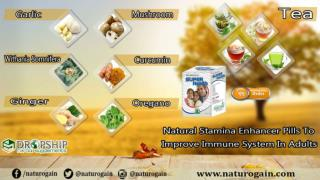 Natural Stamina Enhancer Pills to Improve Immune System in Adults