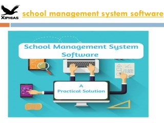 school management system software