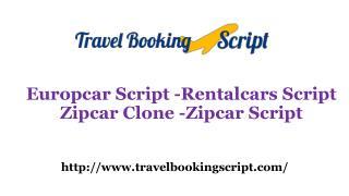 Europcar Script - Rentalcars Script - Zipcar Clone - Zipcar Script