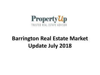 Barrington Real Estate Market Update July 2018