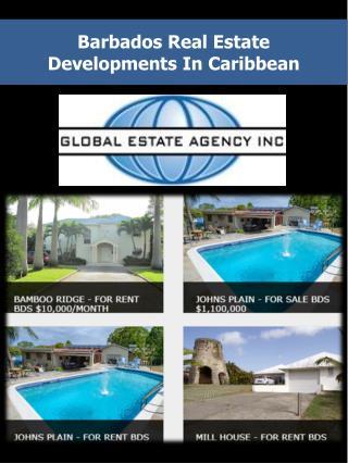 Barbados Real Estate Developments In Caribbean