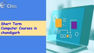 Short Term Computer Course in Chandigarh