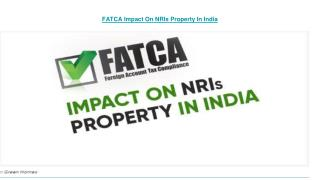 what is fatca declaration in india