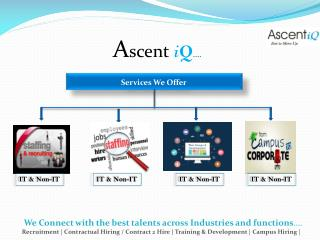 Ascent iQ - Recruitment Process Outsourcing Company in Delhi