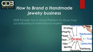 How to Brand a Handmade jewelry business