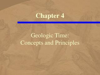 Geologic Time: Concepts and Principles