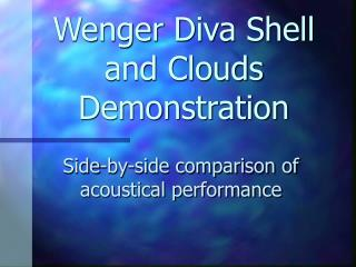 Wenger Diva Shell and Clouds Demonstration
