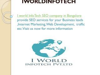 Iworldinfotech  PPT Design company in Bangalore