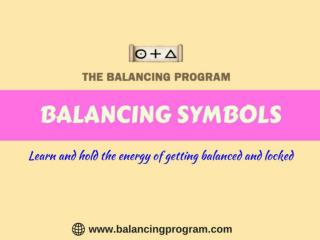 Learn Balancing Symbols at balancing program