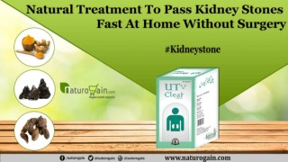 Natural Treatment to Pass Kidney Stones Fast At Home without Surgery