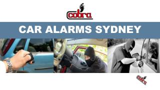 An Overview of Car Alarms
