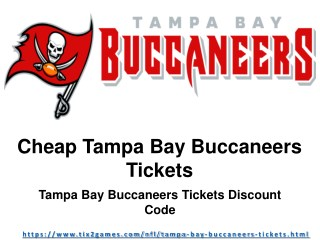 Tampa Bay Buccaneers Match Tickets