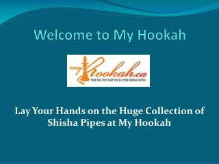 Shisha Pipes and Prayer beads at Myhookah.ca