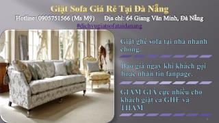 dịch vụ giặt ghế sofa giá rẻ Đà Nẵng