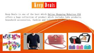 Fashion And Lifestyle Products