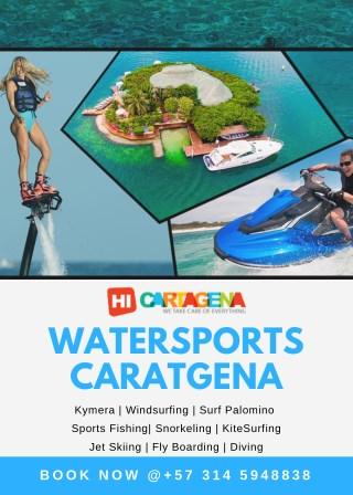 Best Watersports Guide Cartagena | Kitesurfing |Diving | Windsurfing