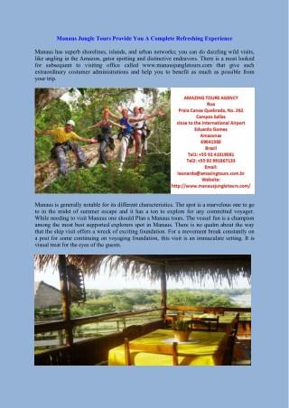 Book Amazon Lodge in Manaus