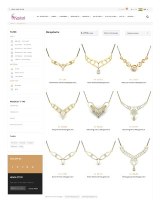 Latest mangalsutra designs with price