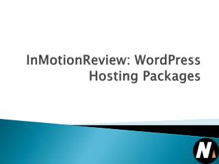 InMotionReview: WordPress Hosting Packages