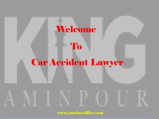 Personal Injury Lawyer San Diego - King Aminpour