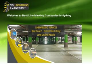 Best Line Marking Companies in Sydney