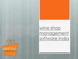 Wine shop management software india