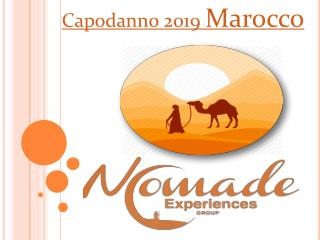Capodanno 2019 Marocco