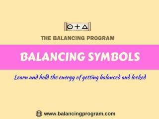 Raise your mental level with Balancing Symbols at balancing program