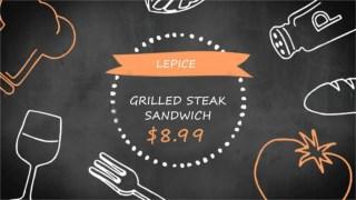 Grilled Steak Sandwich - Lepice - Healthy Living Food