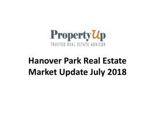 Hanover Park Real Estate Market Update July 2018.