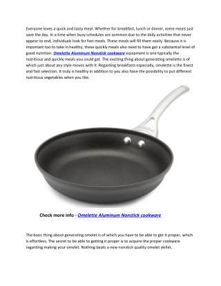 Calphalon Contemporary Hard-Anodized Omelette Aluminum Nonstick Cookware