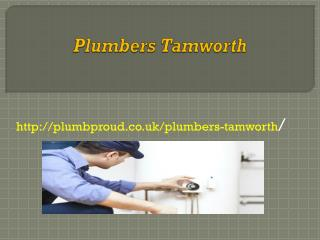 Plumbers Tamworth
