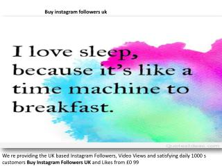 buy cheap instagram followers uk