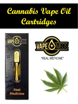 Cannabis Vape Oil Cartridges