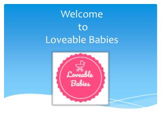 Best Kids Clothing Stores Online | Toddler Outfit Sets | Loveable Babies