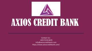 Banking & Financial Services - Axios Credit Bank