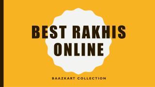 Buy rakhi online - Online rakhi shopping, fancy rakhi, Rakhi gifts online   Baazkart