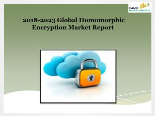 2018-2023 Global Homomorphic Encryption Market Report
