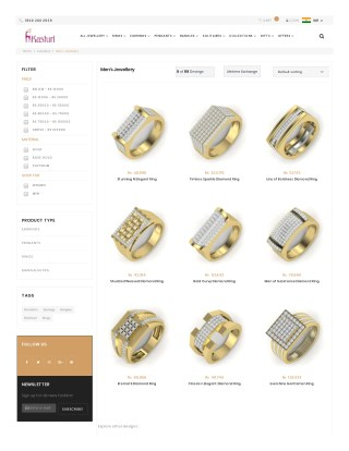 Buy Men's Jewellery Online India - Real Jewelry For Mens Online India