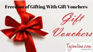 Freedom of Gifting With Gift Vouchers